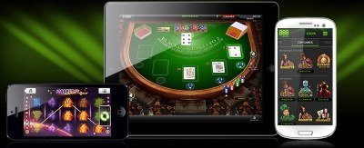 Play on the move with 888 mobile casino