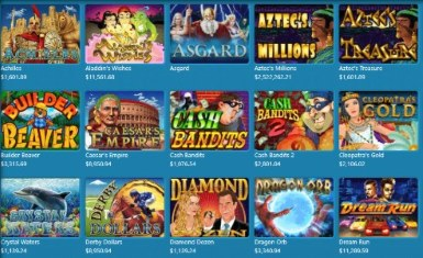 The wide variety of games at SlotoCash casino