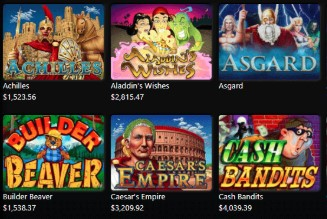 Uptown Aces offers a great variety of slots.